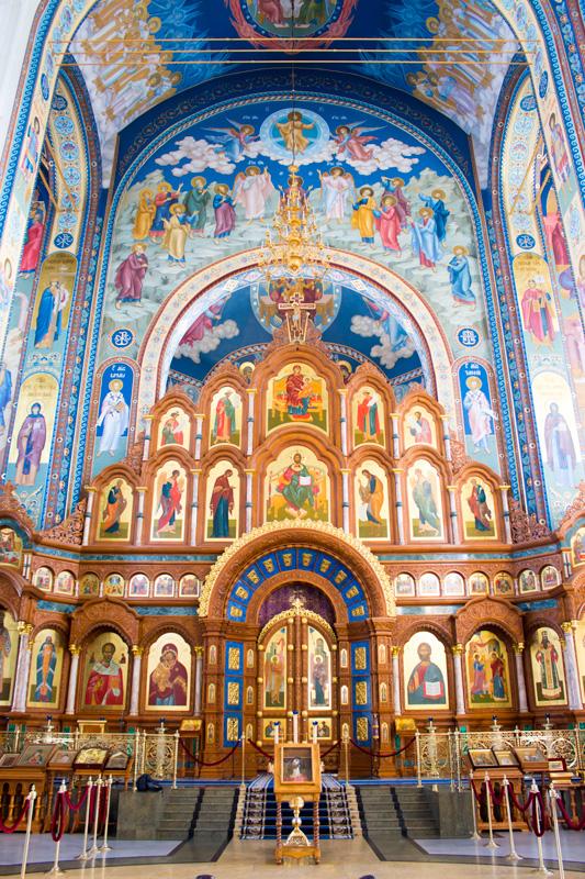 Внутри Благовещенского собора